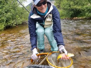 tenkara weekend clinic happy client